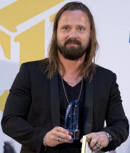 MEP 14. Mikael Damberg delar ut regeringens musik export pris till Max Martin och Spotify. Foto: Martina Huber/Regeringskansliet