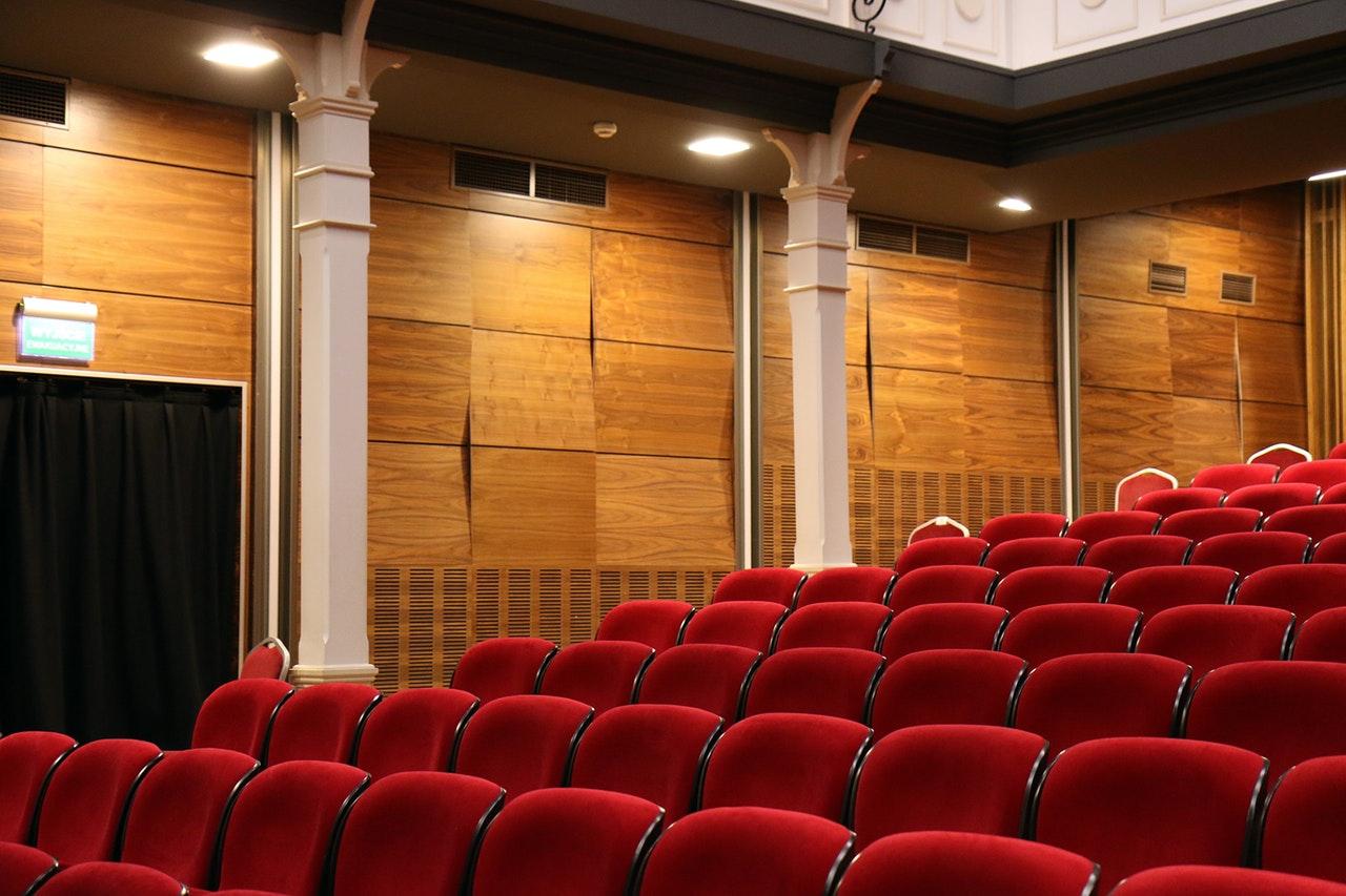 Interiör i en operabyggnad